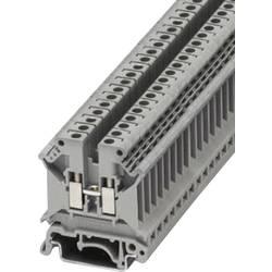 Průchozí svorka Phoenix Contact UK 5 N (3004362), šroubovací, 6,2 mm, šedá