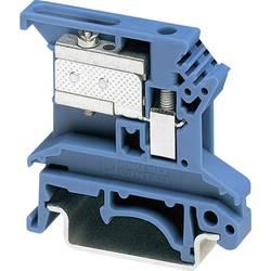 Oddělovací svorka Phoenix Contact UKN 2,5 BU (3032004), šroubovací, 6,2 mm, modrá