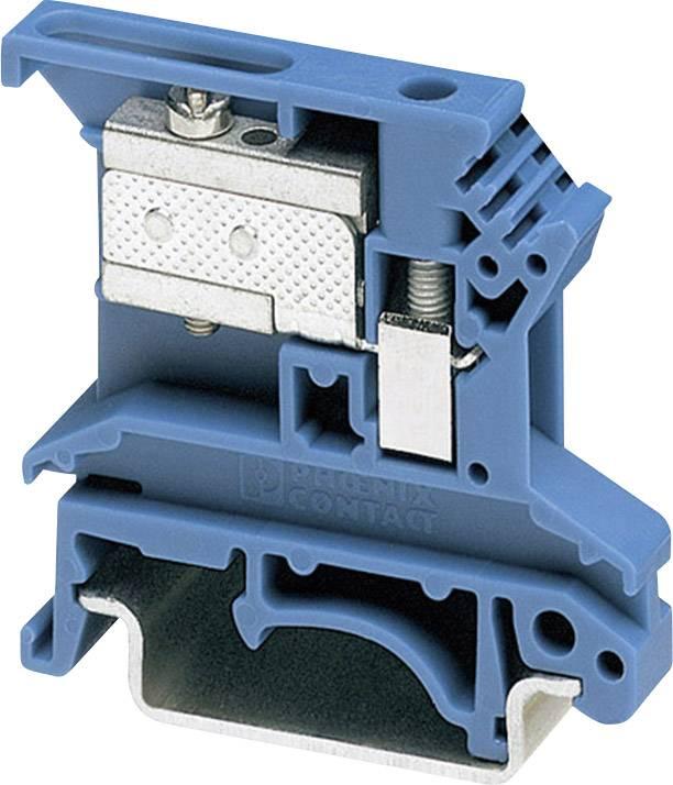 Oddělovací svorka Phoenix Contact UKN 2,5 BU 3032004, 1 ks, modrá