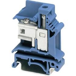 Oddělovací svorka Phoenix Contact UKN 6 N BU (3024041), šroubovací, 8,2 mm, modrá