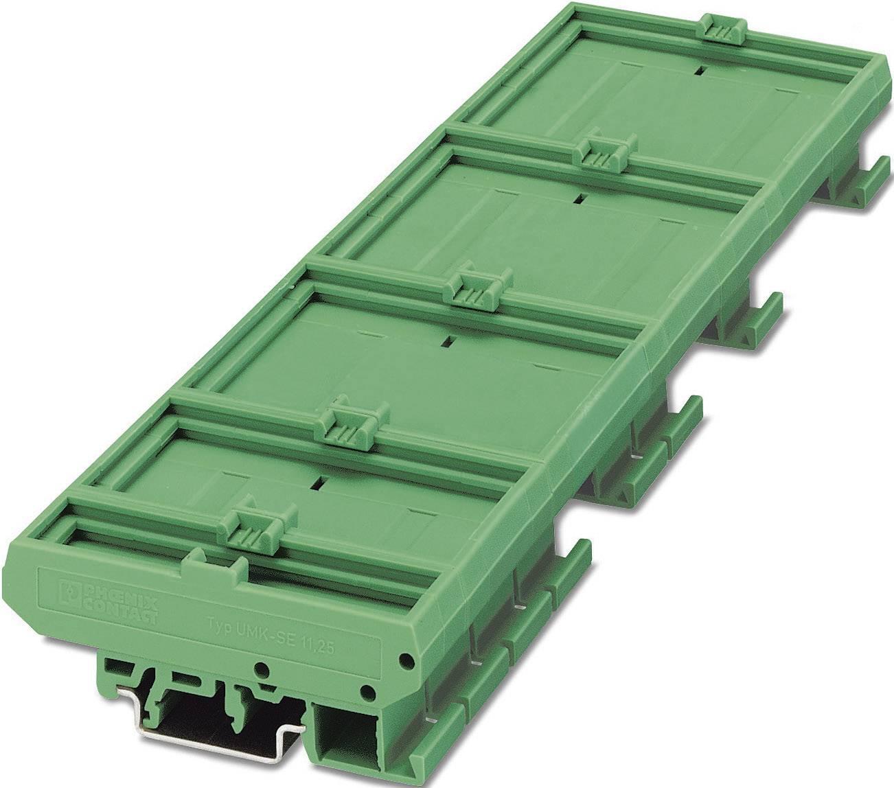 Spodní část pouzdra do lišty Phoenix Contact UMK- FE (2970031), zelená