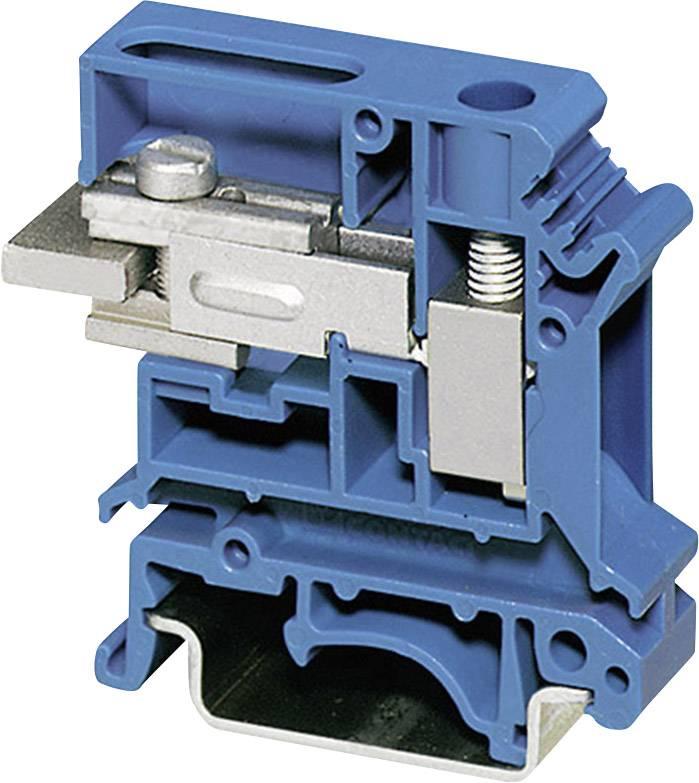 Oddělovací svorka Phoenix Contact UKN 10 N BU 3003910, 1 ks, modrá