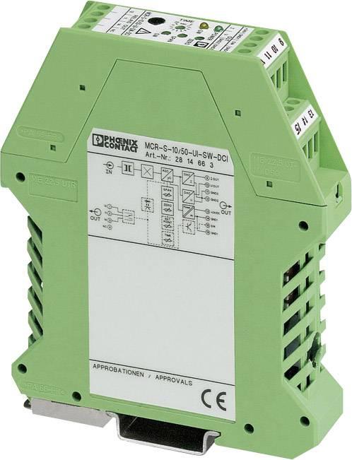 Phoenix Contact MCR-S10/50-UI-SW-DCI-NC Aktivní převodník až 55 A