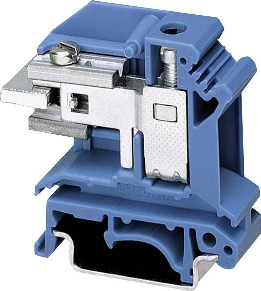 Oddělovací svorka Phoenix Contact UIKN 16 BU 3006166, 1 ks, modrá