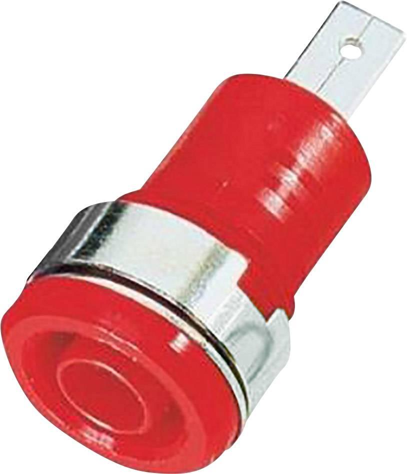 Bezpečnostní zdířka MultiContact SLB 4-F/A, červená