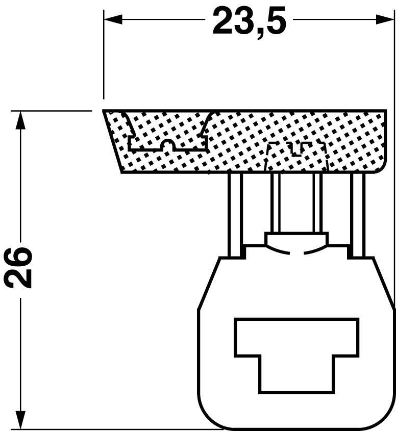Připojovací svorka vhodný pro: N sběrnice Phoenix Contact AKG 4 BU 0421016, 1 ks