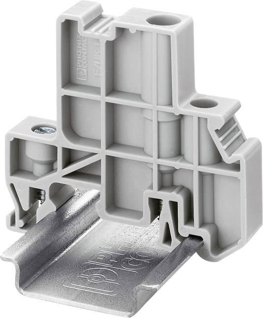 Koncový držák Phoenix Contact E/UK 1 (1201413), 55,5 mm, šedá
