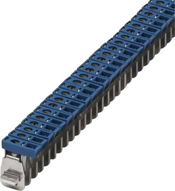 Připojovací svorka Phoenix Contact AKG 16 BU (0423014), 10 mm, modrá