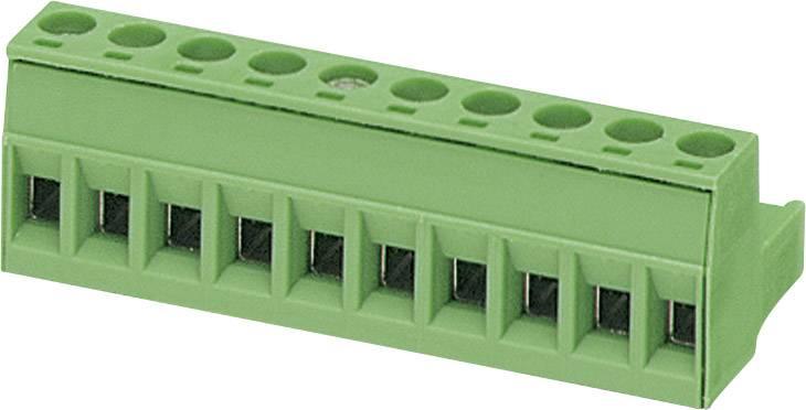 Zásuvkové púzdro na kábel Phoenix Contact MSTB 2,5/10-ST-5,08 1757093, 50.80 mm, pólů 10, rozteč 5.08 mm, 1 ks