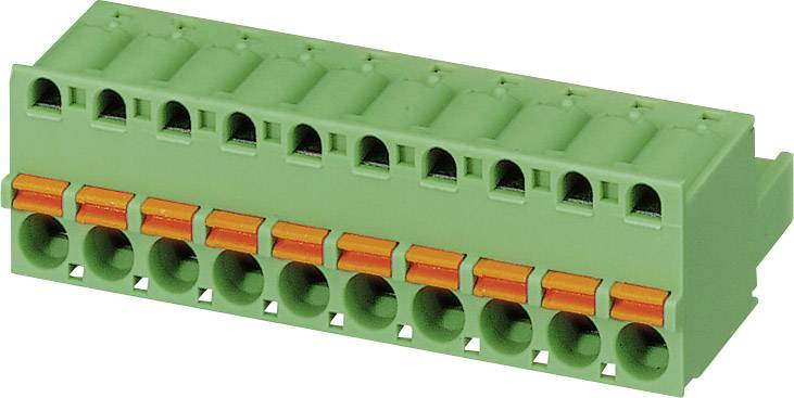 Konektor pružinový Phoenix Contact FKC 2,5/ 4-ST-5,08 (1873074), AWG 24 -12, zelená
