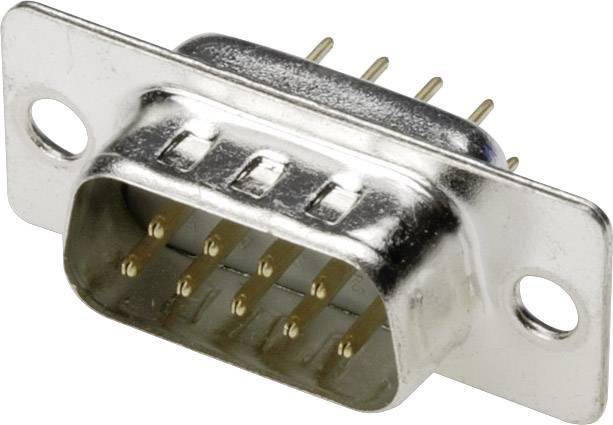 D-SUB kolíková lišta ASSMANN WSW A-DS 09 PP/Z, 180 °, Počet pinov 9, spájkovaný konektor, 1 ks