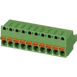 Konektor pružinový Phoenix Contact FKC 2,5/10-ST-5,08 (1873139), AWG 24 -12, zelená