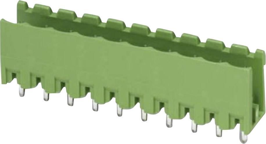 Svorkovnice 1řadá do DPS Phoenix Contact MSTBV 2,5/ 8-G-5,08 (1758076), 8pól., zelená