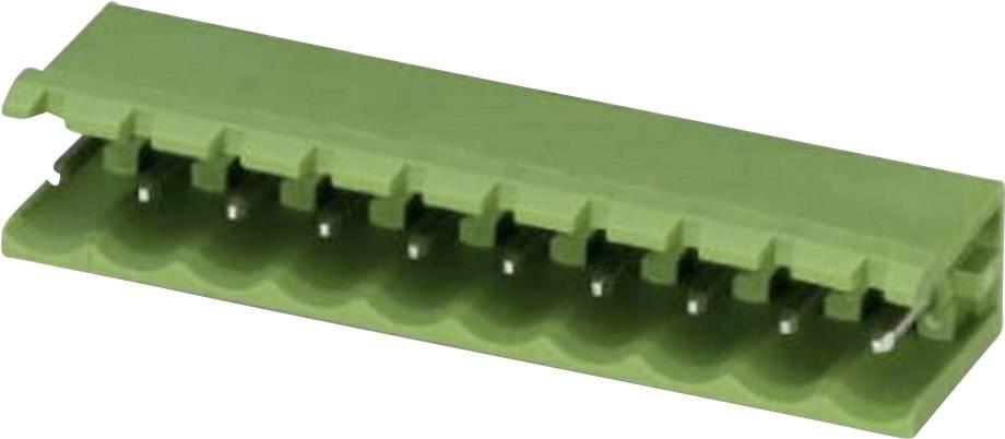 Svorkovnice 1řadá do DPS Phoenix Contact MSTB 2,5/ 4-G (1754478), 4pól., zelená