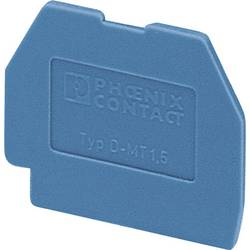 Zakončovací kryt Phoenix Contact D-MT 1,5 BU (3025529), modrá