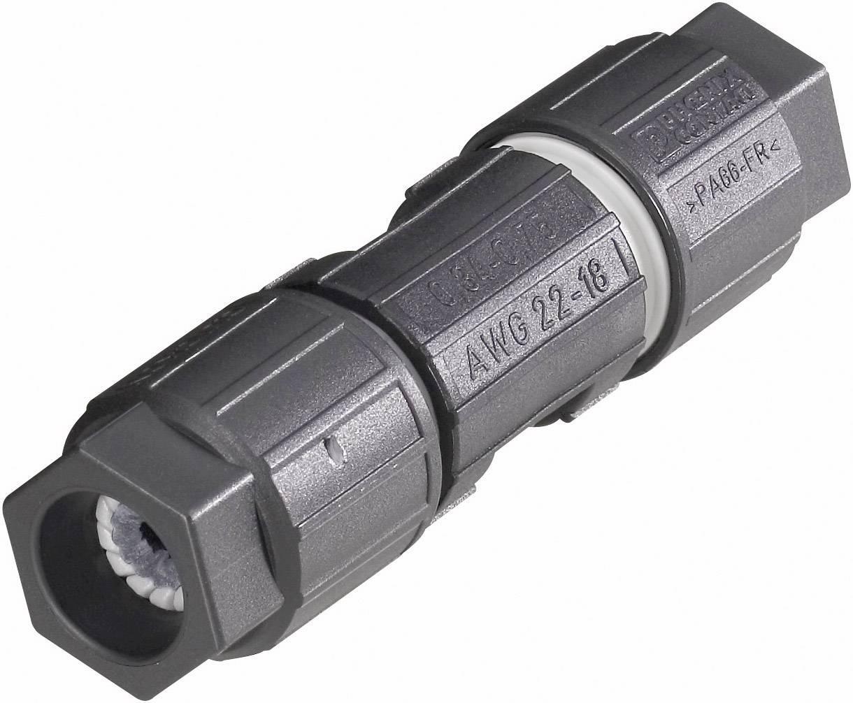 Kabelové spojky QUICKON-ONE, 0.75 - 1.5 mm²