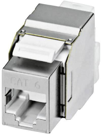 Zabudovateľný zástrčkový konektor pre senzory - aktory Phoenix Contact VS-08-BU-RJ45-6/KA/LSA 1653168, 1 ks