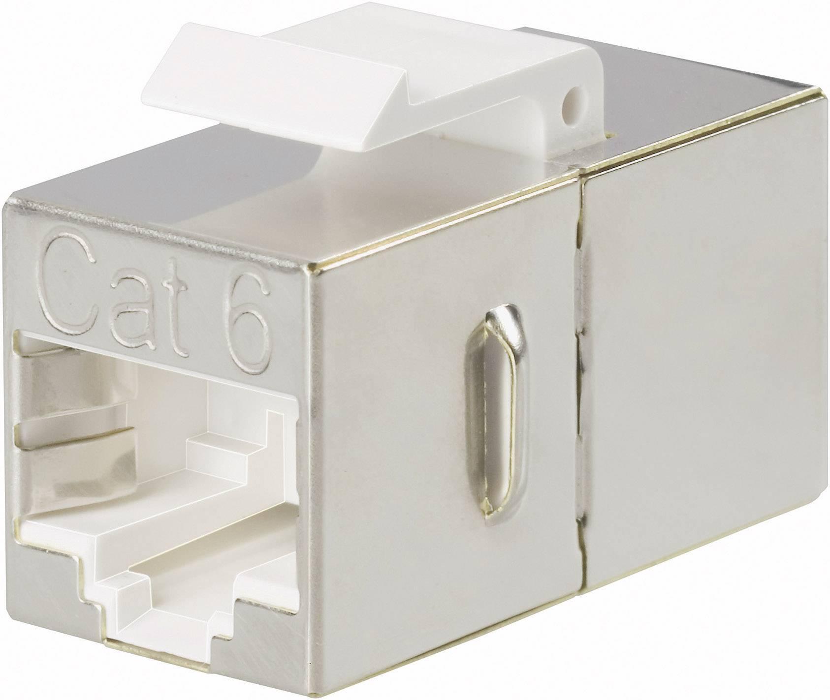 Zabudovateľný zástrčkový konektor pre senzory - aktory Phoenix Contact VS-08-BU-RJ45-6-MOD/BU 1653155, 1 ks