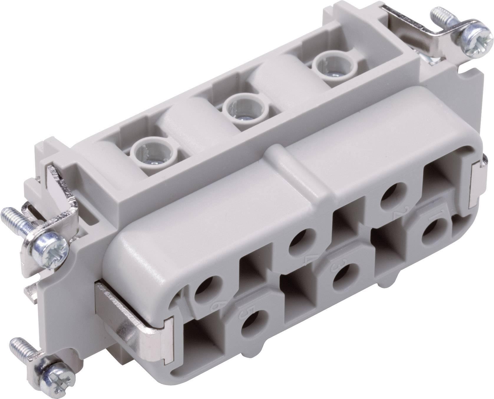 Konektorová vložka, zásuvka EPIC® H-BS 6 10171600 LappKabel počet kontaktů 12 + PE 5 ks