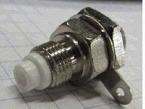 FME konektor - zásuvka, vestavná vertikální TRU COMPONENTS 1 ks