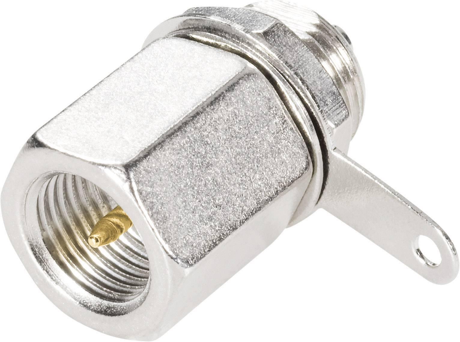 FME konektor - zástrčka, vestavná rovná BKL Electronic 0412062 50 Ohm, 1 ks