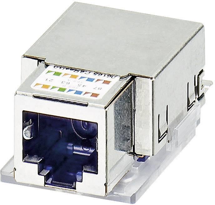 Zabudovateľný zástrčkový konektor pre senzory - aktory Phoenix Contact VS-08-BU-RJ45-5-F/PK 1652936, 1 ks