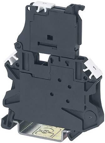 Jisticí řadová svorka Phoenix Contact UK 10,3-CC HESILED N 600 3POL 3048632, 3 ks, černá
