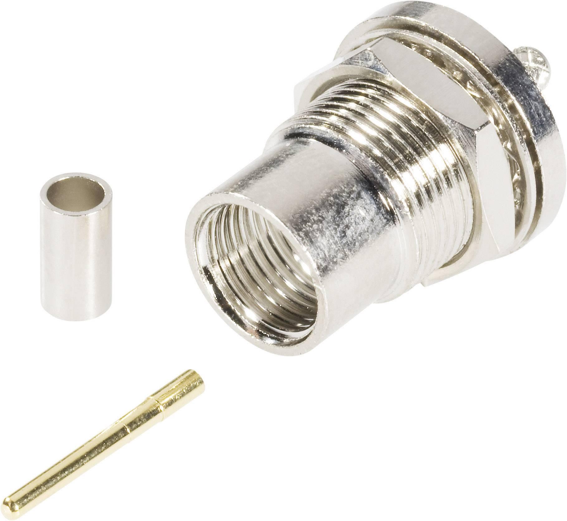 FME konektor - zástrčka, vestavná rovná BKL Electronic 0412064 5 mm, 50 Ohm, 1 ks