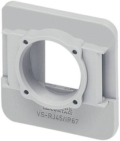 Neupravený zástrčkový konektor pre senzory - aktory Phoenix Contact VS-08-A-RJ45/MOD-1-R-IP67 1689844, 1 ks