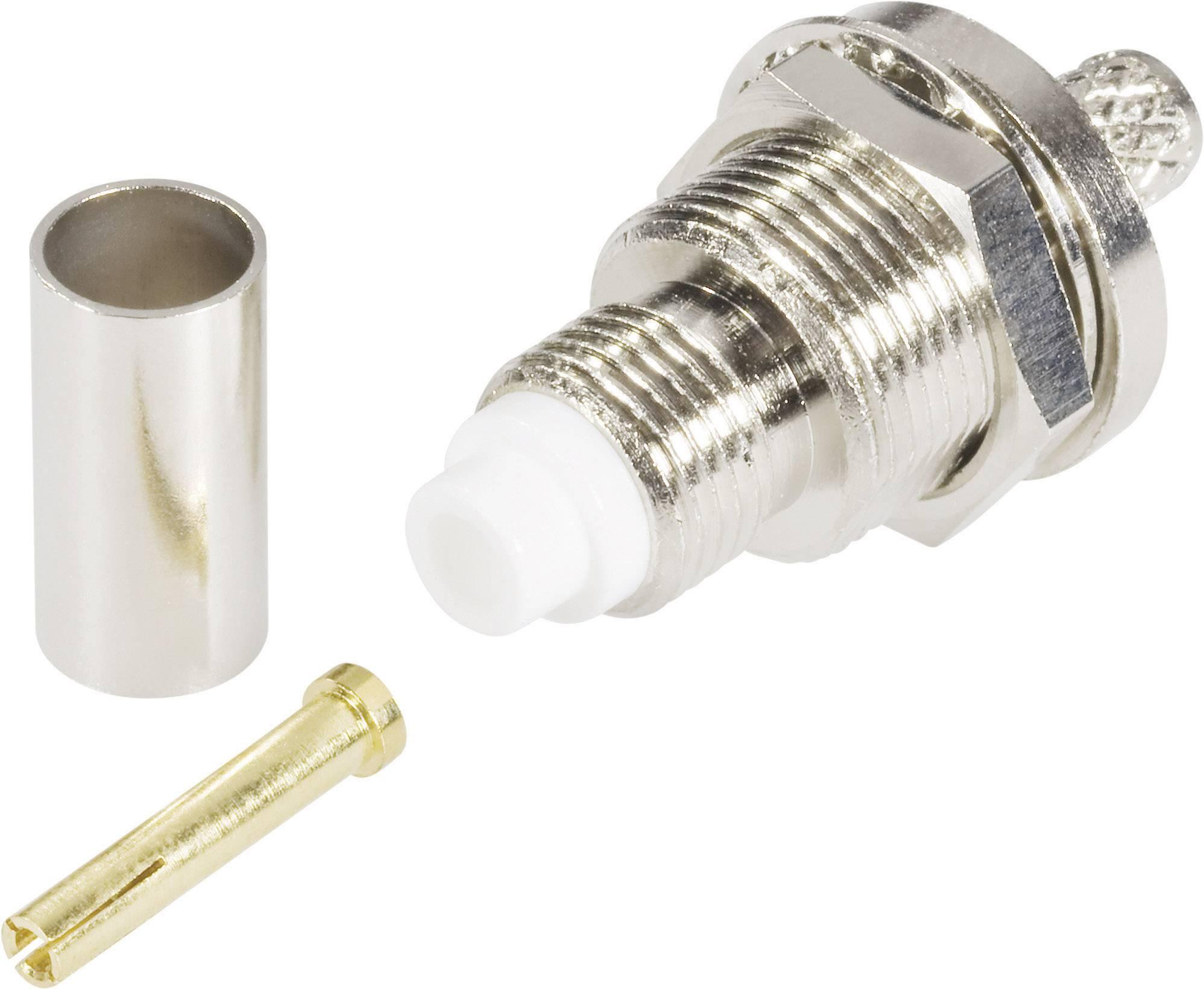FME konektor - zásuvka, vestavná vertikální TRU COMPONENTS 5 mm, 1 ks