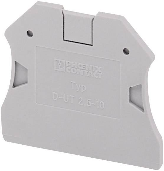Ukončovací deska Phoenix Contact D-UTN 2,5/10 (3245079), 2,2 mm