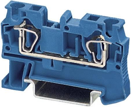 Průchodová svorka s tažnou pružinou Phoenix Contact ST 4 BU (3031377), modrá