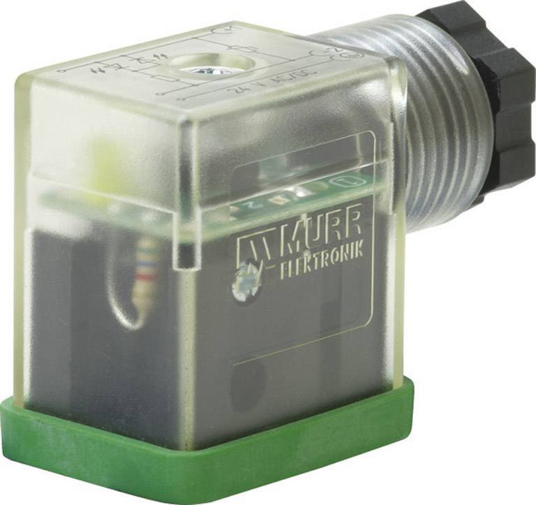 Ventil. konektor Murr Elektronik SVS Eco (7000-29005-0000000), IP65 (60529), černá/transp.