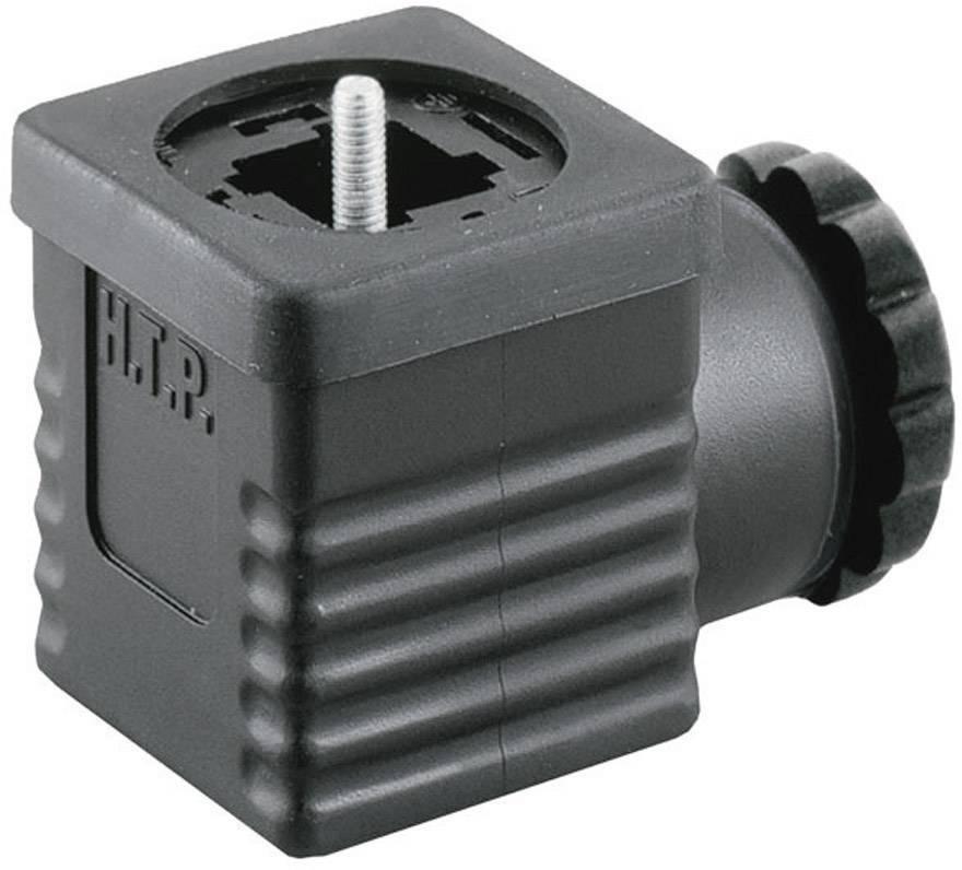 Ventilový konektor HTP G1NU2000-H (G1NU2000), IP65 (namontované), černá