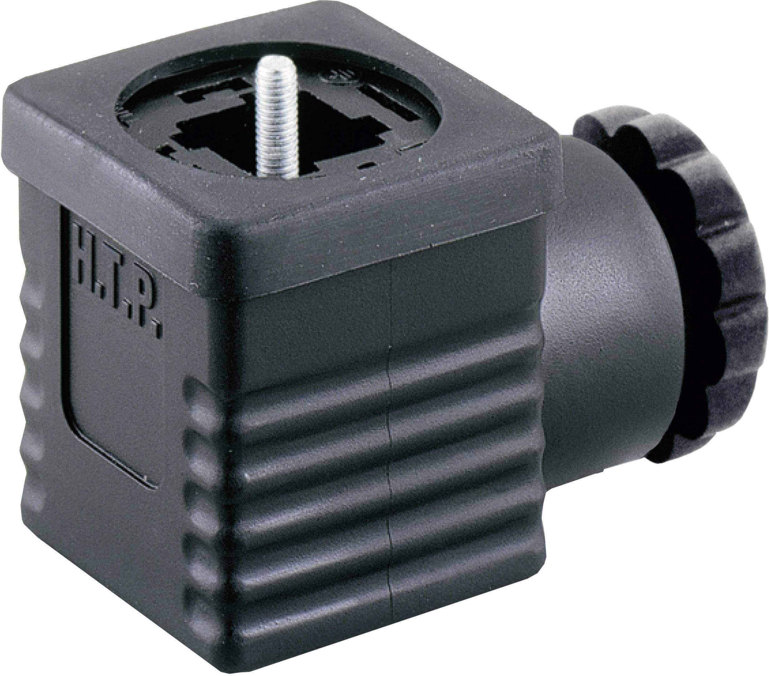 Ventilový konektor HTP G1NU3000-H (G1NU3000), IP65 (namontované), černá