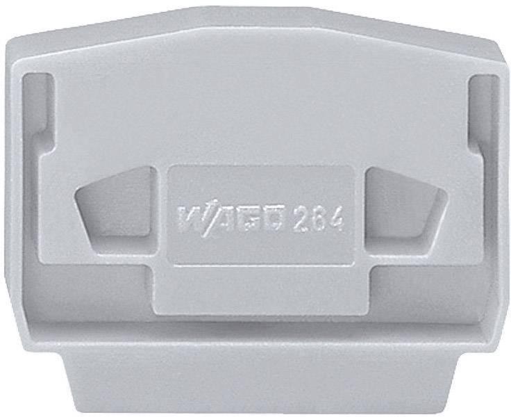 Bočnice pro svorky Wago 264-361, 4 mm, šedá