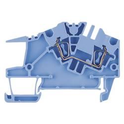 Průchozí svorka řadová Weidmüller ZDU 10S BL (1739550000), 10 mm, modrá
