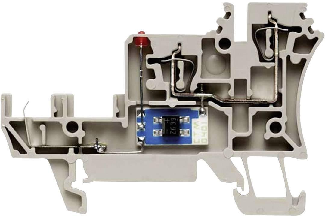 Svorka pro připojení snímačů Weidmüller ZIA 1.5/4L-1S (1652010000), béžová