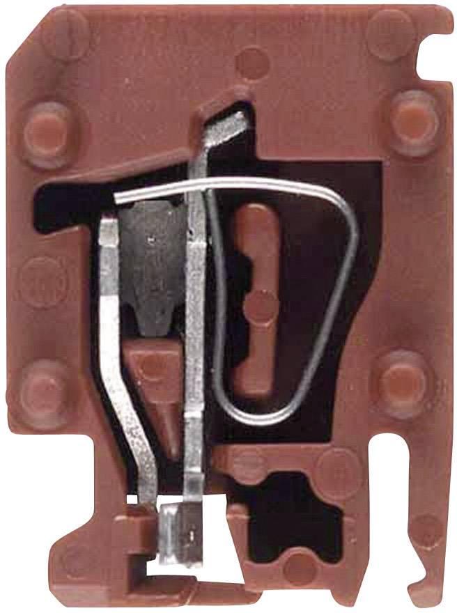 Svorka pro připojení snímačů Weidmüller ZVL 1.5 BR (1650370000), hnědá