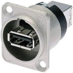 USB vestavná zásuvka Neutrik NAUSB-W, niklová