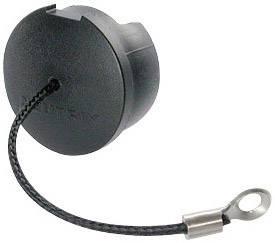 Záslepka Neutrik SCF, černá, 1 ks