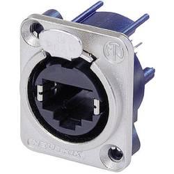 Konektor RJ45 EtherCon Neutrik NE 8 FDV, zásuvka rovná, niklová