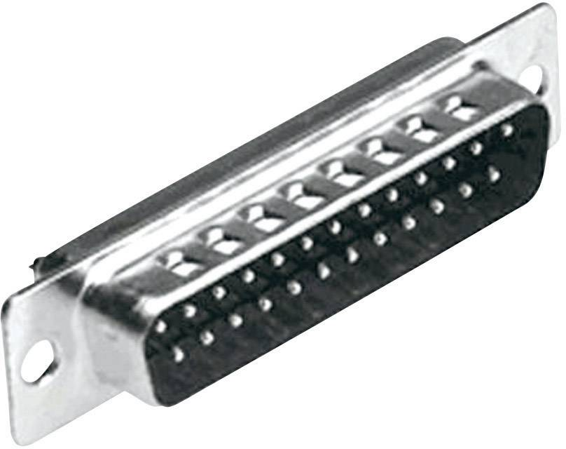 D-SUB kolíková lišta MH Connectors MHDB25-SP, 180 °, pólů 25, pájecí kalíšek, 1 ks