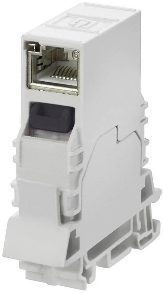 Zabudovateľný zástrčkový konektor pre senzory - aktory Weidmüller IE-TO-RJ45-C 8946920000, 1 ks