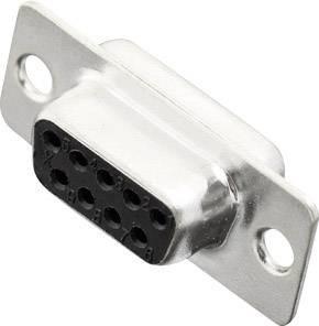 D-SUB zásuvková lišta MH Connectors MHDB09-SS, 180 °, pólů 9, pájecí kalíšek, 1 ks