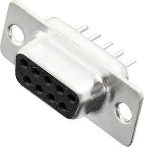D-SUB zásuvková lišta MH Connectors MHDD09-F-T-B-S, 180 °, Počet pinov 9, spájkovaný konektor, 1 ks
