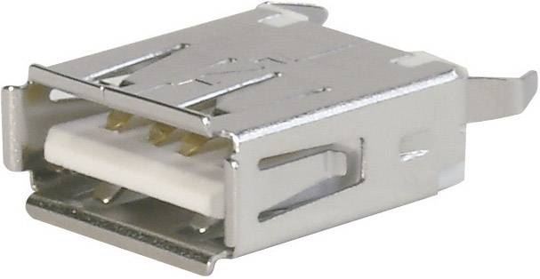 USB 2.0 zásuvka, vstavateľná ASSMANN WSW A-USB A-TOP A-USB A-TOP, 1 ks