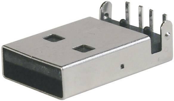 USB 2.0 zástrčka, vstaviteľná ASSMANN WSW A-USB A-LP A-USB A-LP, 1 ks