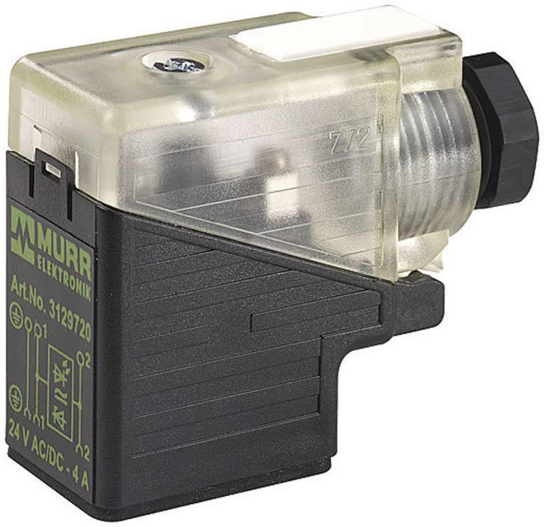 Ventilový konektor Murr Elektronik SVS (7000-29801-0000000), IP65 (60529), černá/transp.