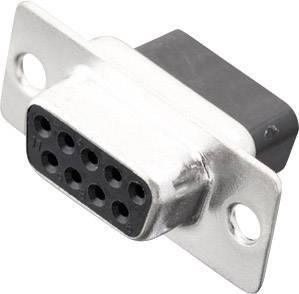 D-SUB zásuvková lišta MH Connectors MHDBC09-SS, 180 °, Počet pinov 9, krimpované , 1 ks
